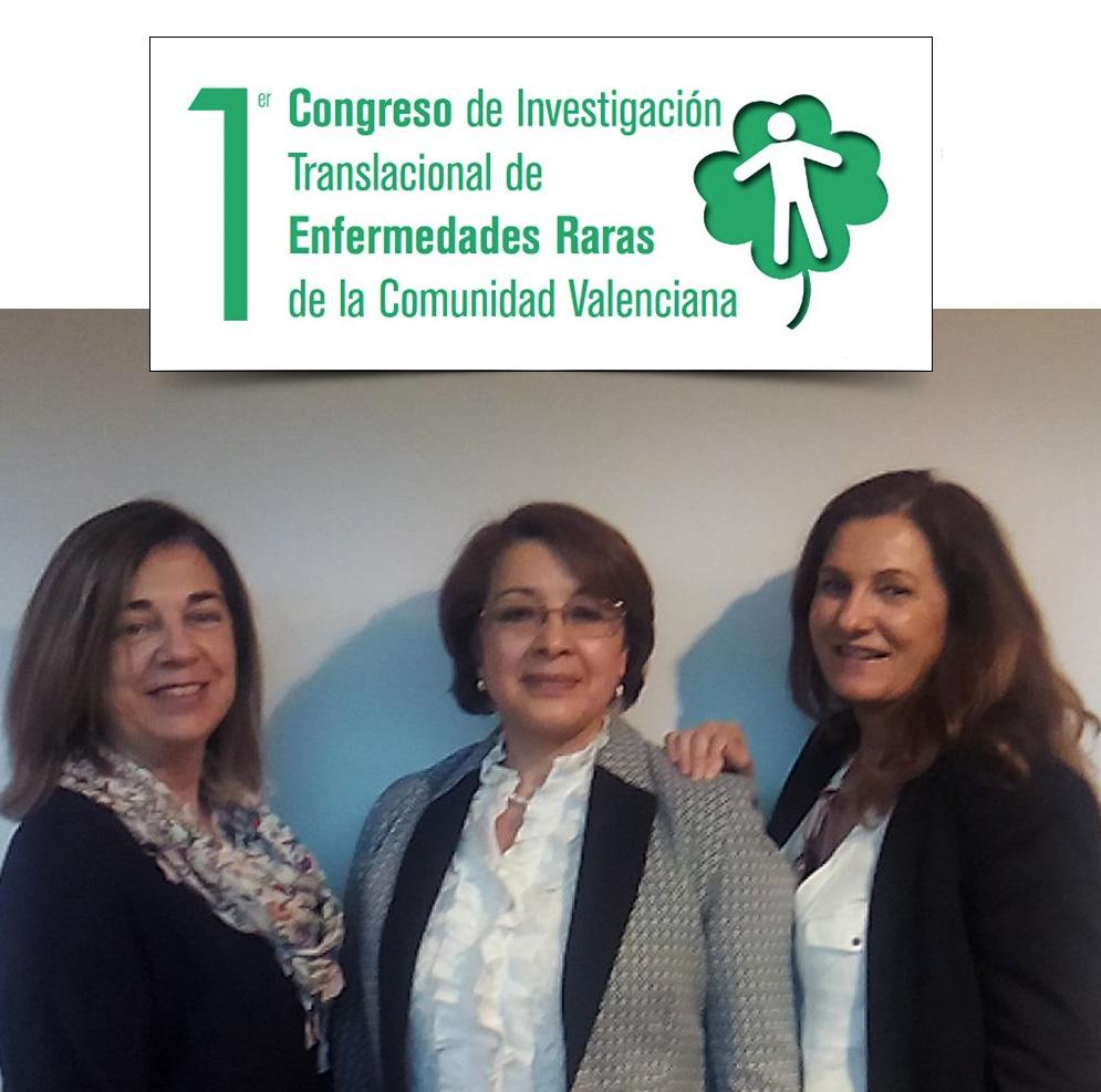 Fundacion Quaes en el Congreso de Investigación Translacional de Enfermedades Raras de la Comunidad Valenciana