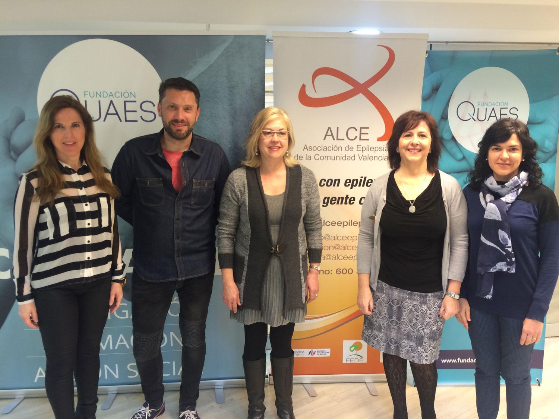 Acuerdo colaboración ALCE y Fundación QUAES