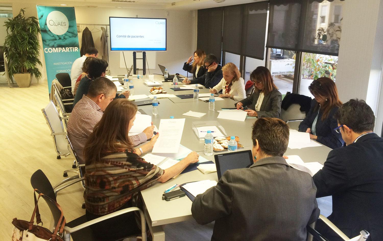 FEDER, GEPAC y la Plataforma de Organizaciones de Pacientes inician el Comité de Pacientes de la Fundación QUAES
