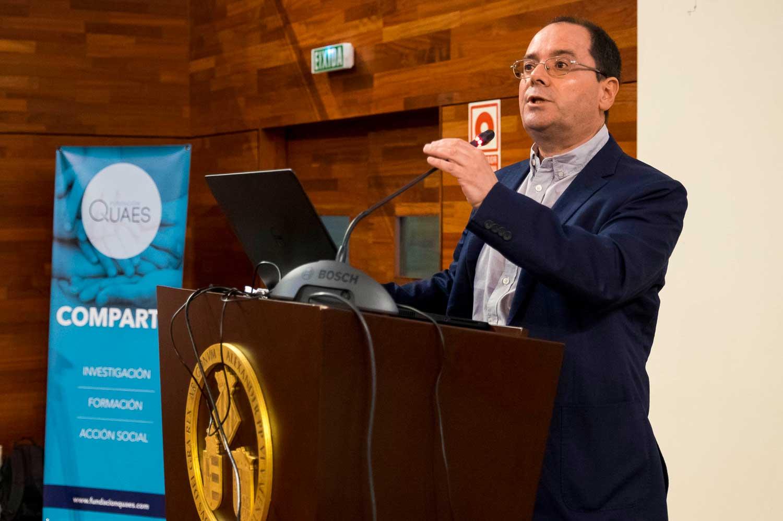 Alberto Rabano Jornada Alzheimer organizada por AFAV y Fundación Quaes