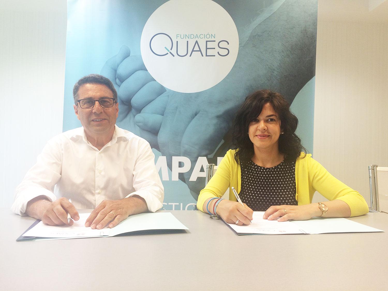 Firma Fundación Quaes y Aspanijer