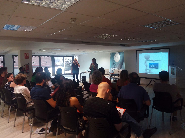 primera sesión del III Curso de Voluntariado organizado por ALCE
