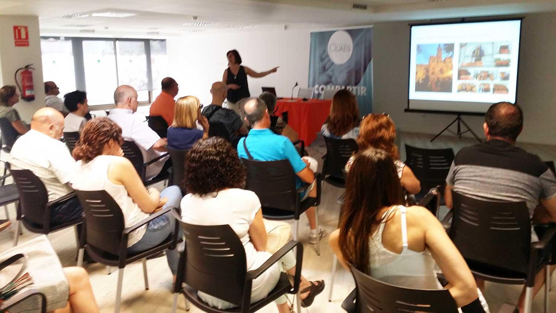 charla de presentación ALCE