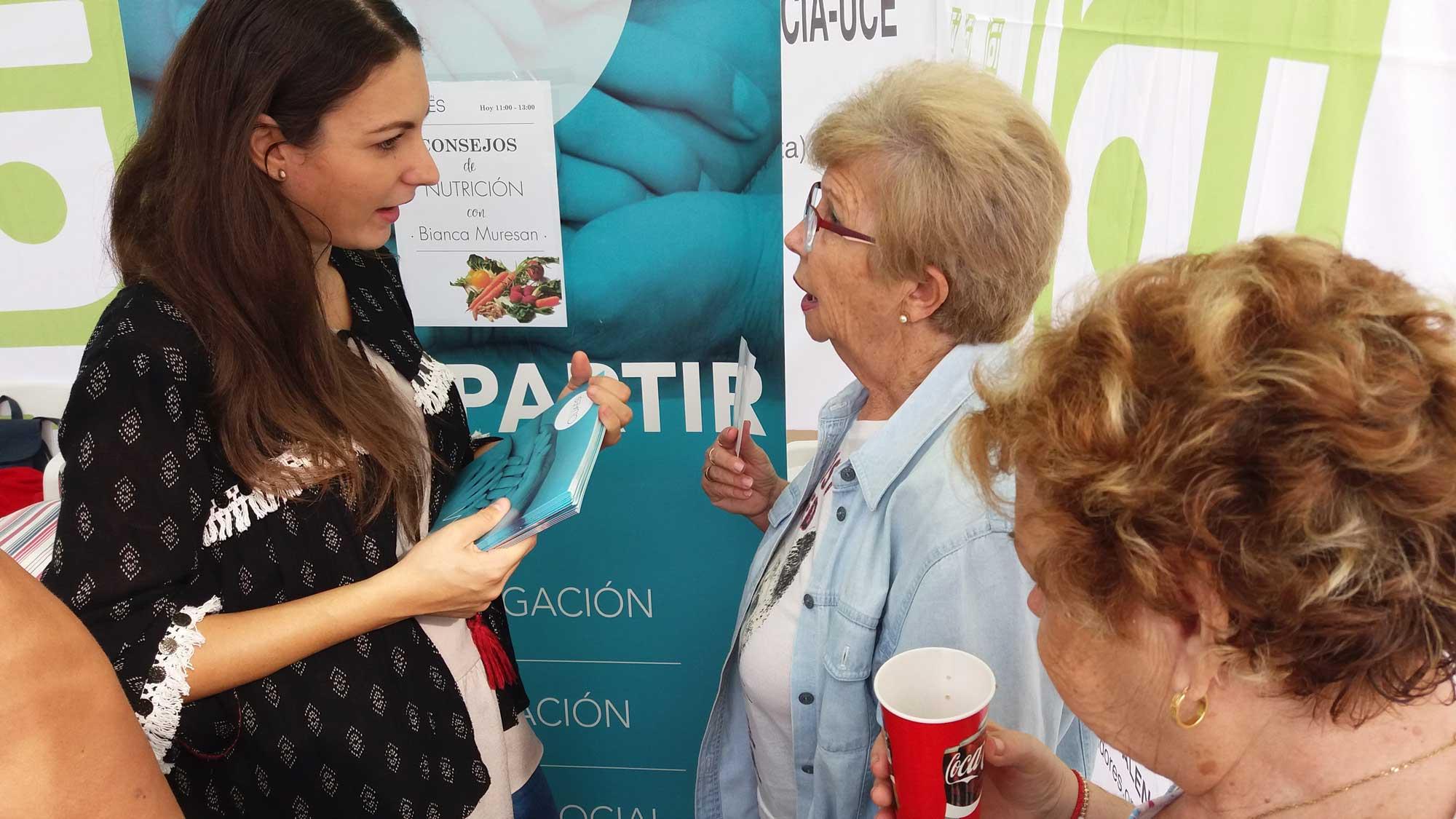 Bianca Muresan nutricionista de Fundación Quaes